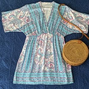 Renee C Boho Tunic Dress